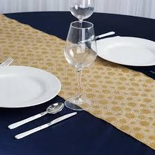 gold polka dot table cover natural burlap table runner with gold polka dots tablecloths