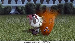 kirby alien chicken 2005 stock photo royalty free
