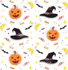 halloween seamless background halloween seamless background vector illustration stock vector art