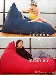 Bean Bag Sofa Bed by 2017 Extra Large Cozy Pivot Bean Bag Chair Living Room Beanbag