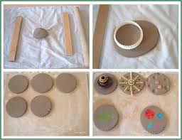 how to make easy coasters u0026 learn to work with clay guest post