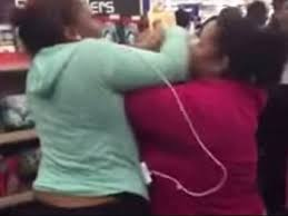 black friday el paso tx men and women fighting in texas walmart over tv black friday
