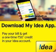 Idea Cellular Bill Desk My Idea Bill Pay