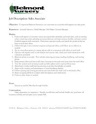 objective for resume sales associate doc 12751650 job duties for sales associate resume for car job responsibilities sales associate for shoe salesperson resume job duties for sales associate