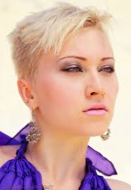 very short pixie hairstyle with saved sides pixie haircut with shaved sides shaggy pixie haircuts for women