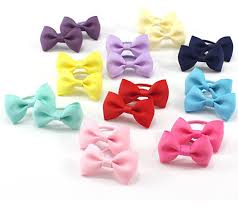 hair bow tie baby hair ties bows kids hair tie bands ropes