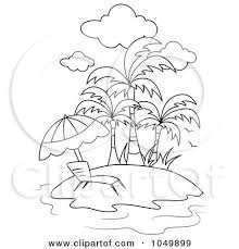 tropical beach coloring pages coloring page outline of a lounge chair on a tropical beach