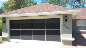2 Door Garage Garage Screen Doors Aluma Tec Remodeling Ocala Florida