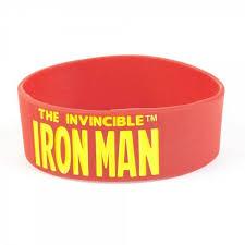 man rubber bracelet images Superhero cartoon characters rubber bracelet wristband multiple jpg