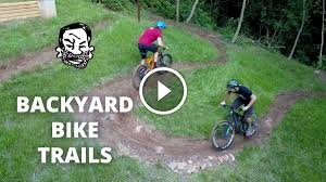 watch seth just built a trail in his backyard and it looks dope