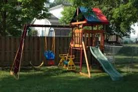 Swing Set For Backyard by Backyard Swing Sets Backyard Wooden Swing Sets Outdoor Swing Sets