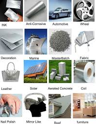 silver dollar pigment anti corrosive paint for marine coating