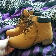 womens timberland boots size 9 timberland timb style womens combat boots size 9 from vee