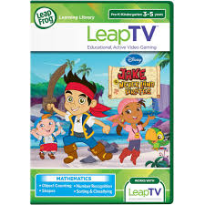 leapfrog leaptv disney jake land pirates educational
