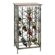 wine rack sizes metal wine glass racks hanging wrought iron wall