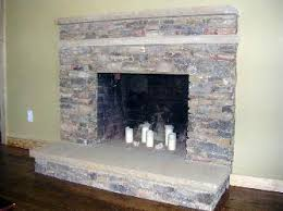 Stacked Stone Around Fireplace by Stacked Stone Fireplace Hearth Natural Stacked Stone Fireplace