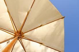 Patio Umbrella Fabric by Cleaning A Canvas Patio Umbrella Thriftyfun