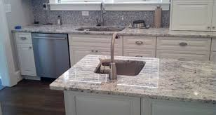 white cabinets with white granite white ice granite with white cabinets png