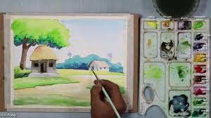 watercolor painting for beginners step by step simple watercolor