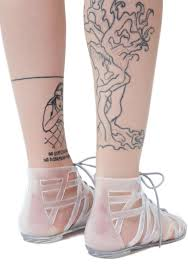 loved up jelly gladiator sandals dolls kill