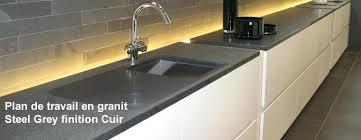 plan de travail de cuisine en granit plan de travail granit noir avec plan travail cuisine plan de