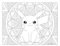 pokemon coloring pages images 025 pikachu pokemon coloring page windingpathsart com