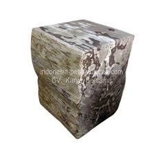 petrified wood dining table petrified wood side table occasional stools