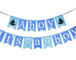 year 2 anniversary giftahoy its a boy nautical wooden box set nautical home decorations nautical