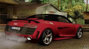 Audi R8 Gt Spyder - audi r8 gt spyder 2012 for gta san andreas