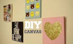 diy bedroom wall decor diy canvas wall decor homemade wall