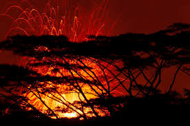 what are lava ls made of rivers of lava spew out toxic acid gas as kilauea volcano eruptions