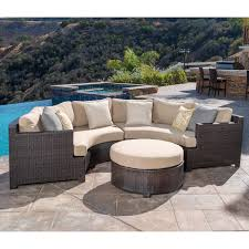 Round Sectional Patio Furniture - circular sectional patio furniture patio decoration