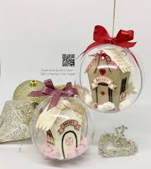 39 u201d sleeps till christmas u2013 house in a bauble with stampin u0027 up