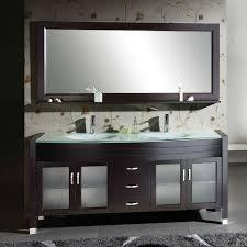 Glass Top Vanities Bathrooms Captivating Glass Top Vanity Bathroom With Additional Milan 1500mm