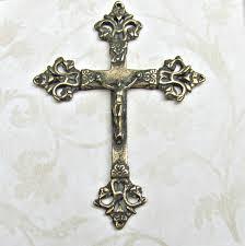 rosary crucifixes bronze crucifix bronze rosary parts vintage antique reproductions