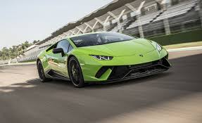fastest lamborghini 2018 lamborghini huracan performante first drive review car