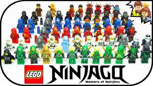lego ninjago halloween costume lego ninjago ultimate ninja complete collection 2015 youtube