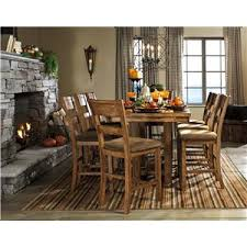 signature design by ashley krinden rustic dining room server with