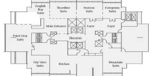 Floor Plan For Hotel Business Hotels Vancouver Coast Plaza Hotel Vancouver Hotel Suites