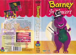 Category Barney And The Backyard by Barneys Barney In Concert Vhs Video Pal A Rare Find Ebay