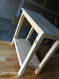 simple side table plans the quaint cottage diy simple end table for small spaces