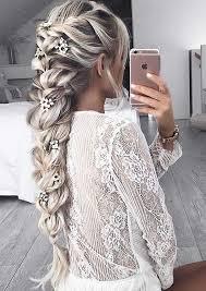 Frisuren Lange Haare Hochgesteckt by Die Besten 25 Geflochtene Frisuren Ideen Auf Lange