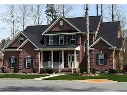 traditional 2 story house plans two story home plans 2 story country traditional house plan 058h