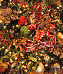 tree theme show me decorating ornaments green gold