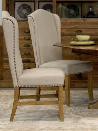High Back Chairs For Dining Room High Back Dining Chairs Set Of 2 From Living In Linen Furniture