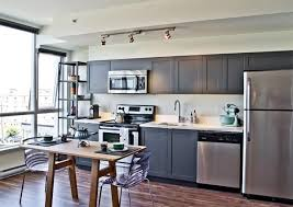 one wall kitchen layout with island kitchen engaging one wall kitchen floor plans grey cabinets gray