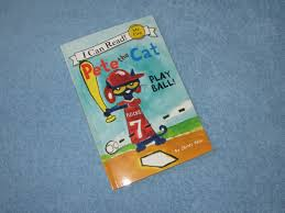 pete the cat play ball children u0027s read aloud story book for