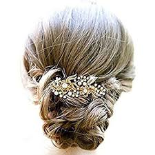 hair slides aukmla hair comb slides rhinestones flowers wedding hair