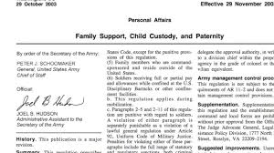 Private Child Support Agreement Military Divorce Laws In Florida