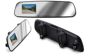 Office Rear View Desk Mirrors 75 Off On Aduro Mirrorcam Rearview Mirror Groupon Goods